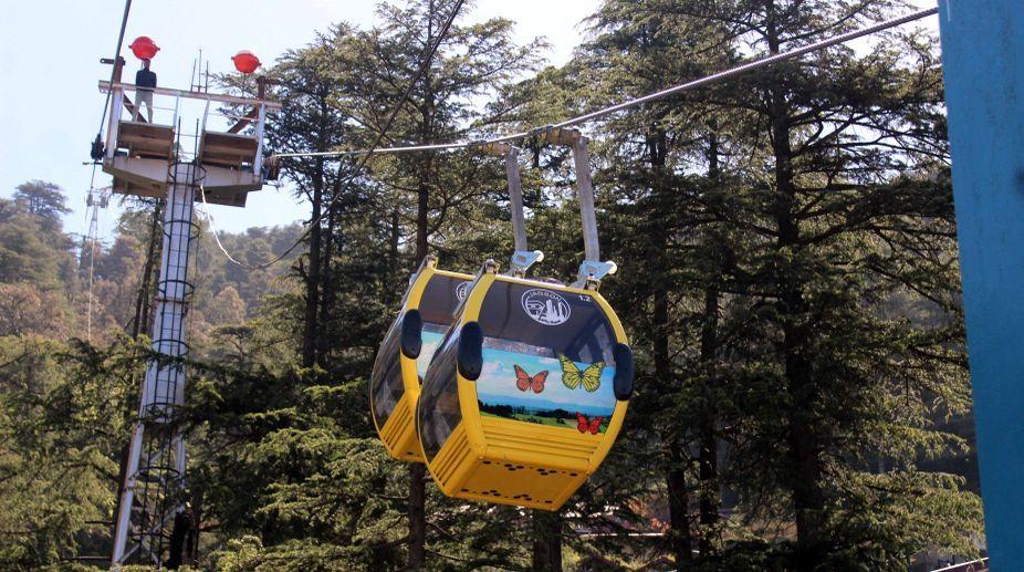 Jakhu Ropeway Shimla