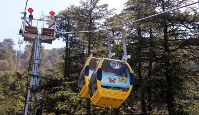 Jakhu Ropeway is the best mode of transport to go to Jakhu Temple